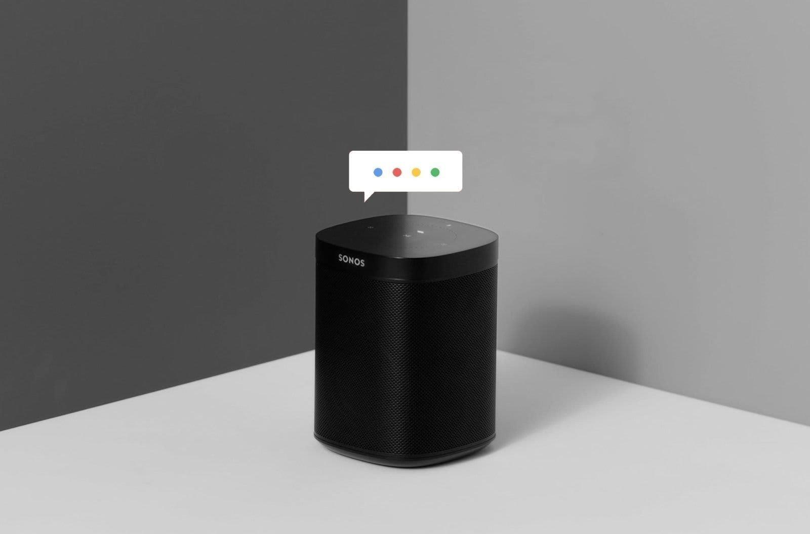 Sonos Google Assitant