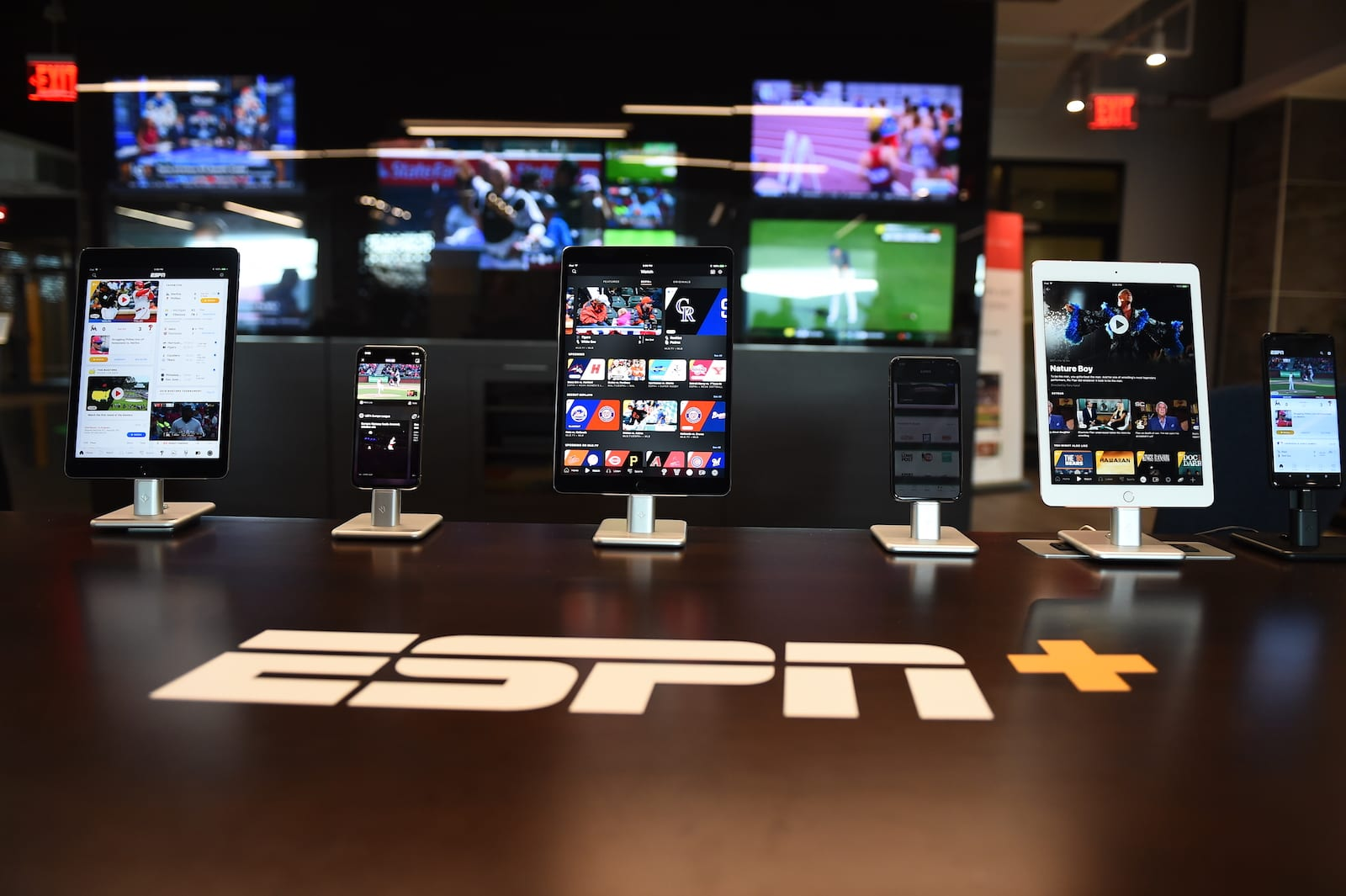Bristol, CT - April 5, 2018: Private First-Look at ESPN+ and the New ESPN App(Photo by Melissa Rawlins / ESPN Images)
