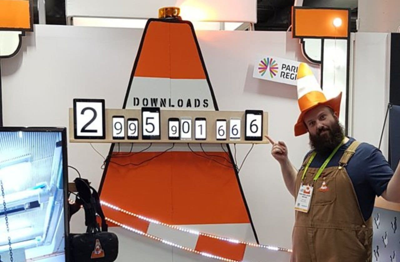 VLC 3billion downloads