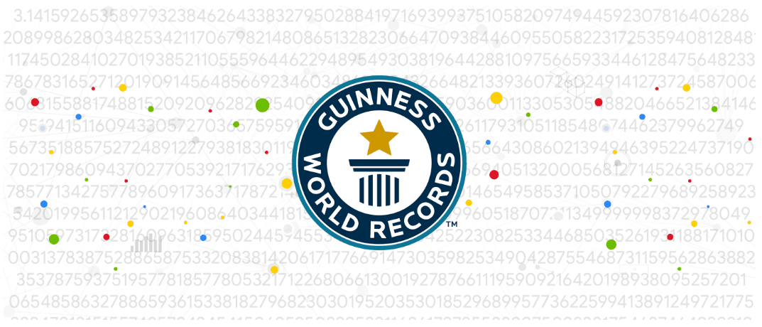 Google pi guinness records