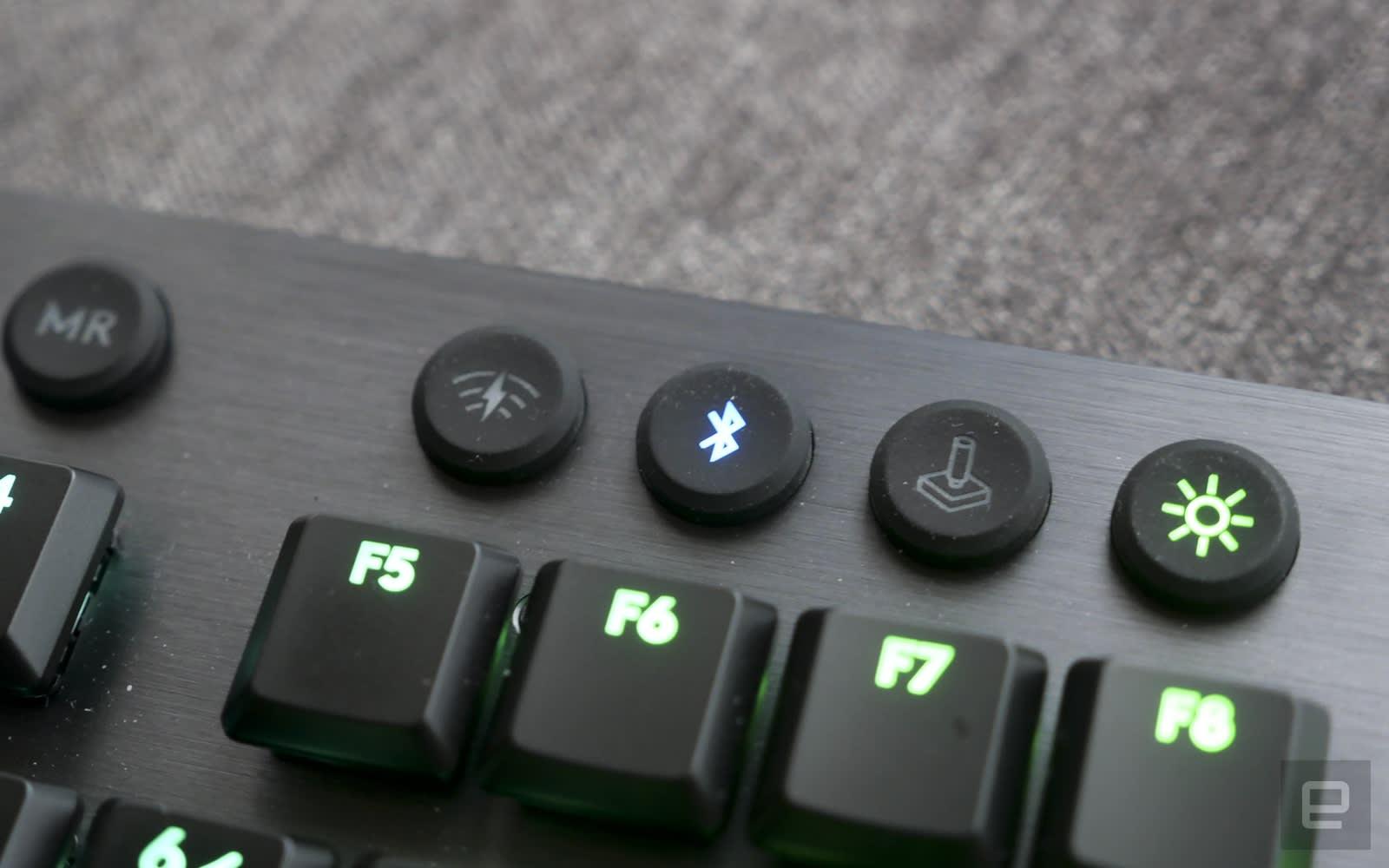 Logitech G813 / G913 薄型機械遊戲鍵盤