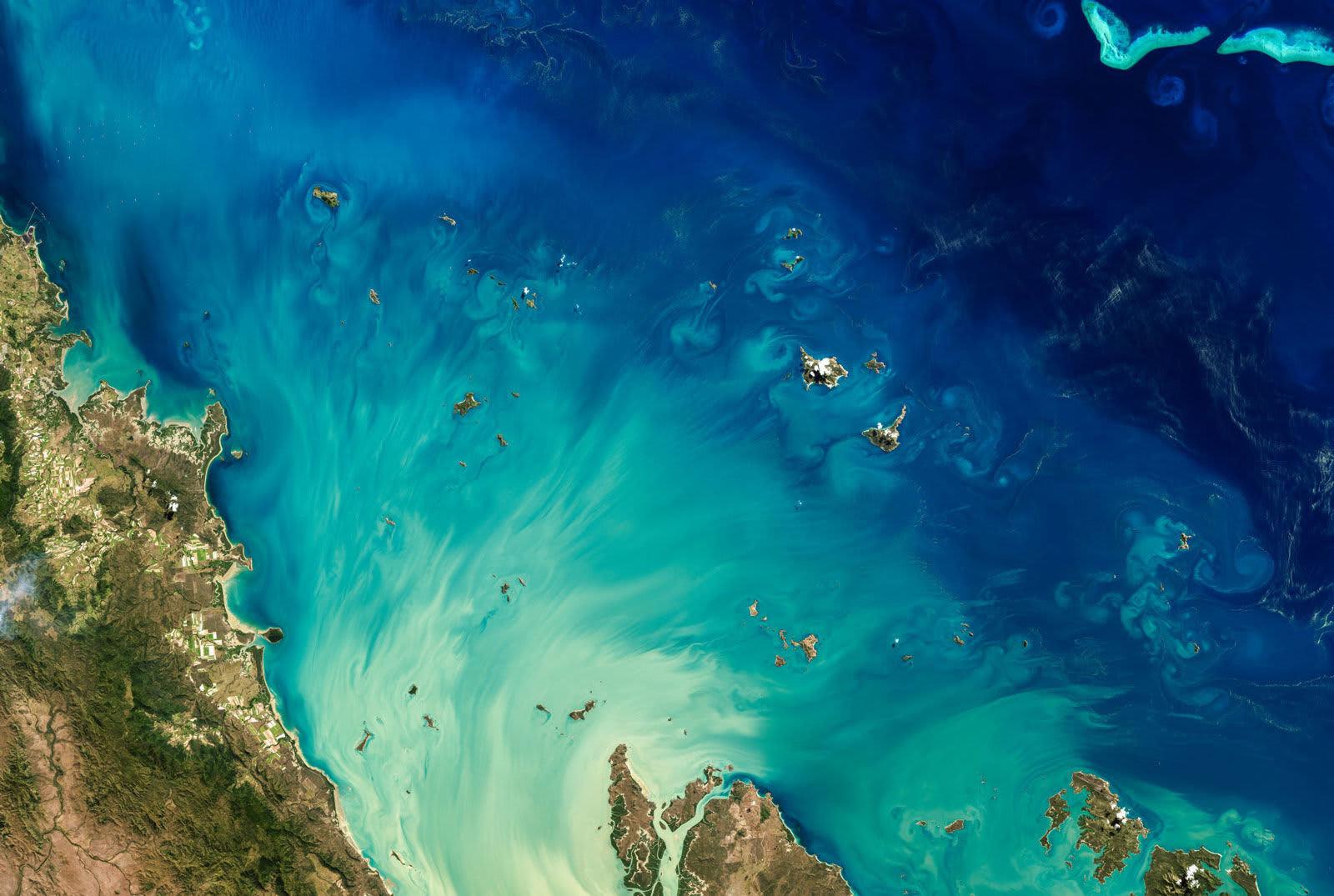 Satellite Earth Art via Getty Images