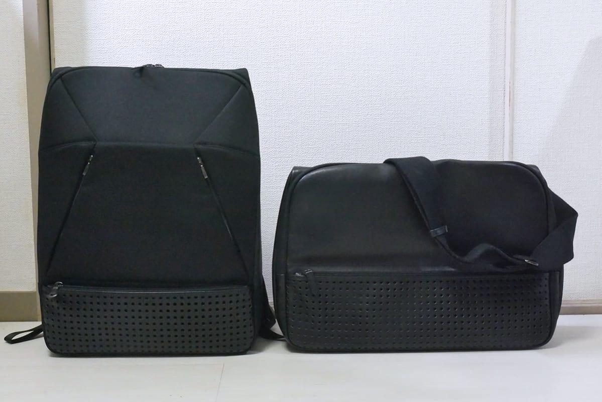 素材のオーダーミスから生まれた超レアなひらPのフルレザーエディション(右)