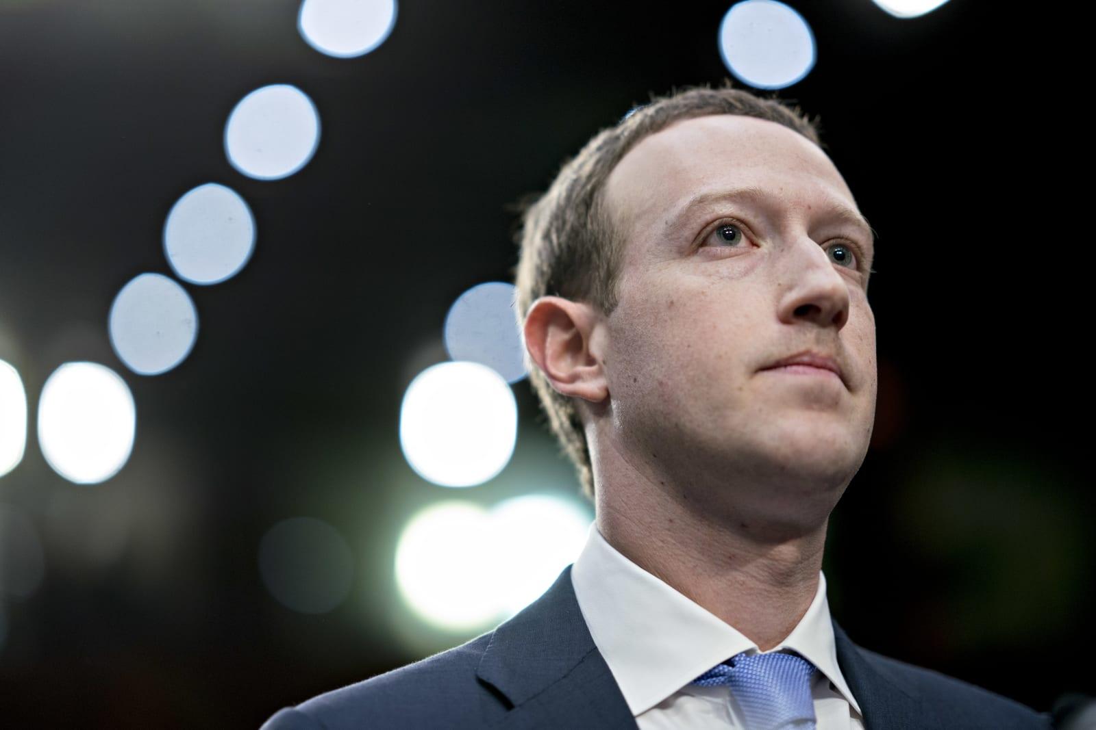 Facebook CEO Mark Zuckerberg Testifies Before The Senate Judiciary And Commerce Committees