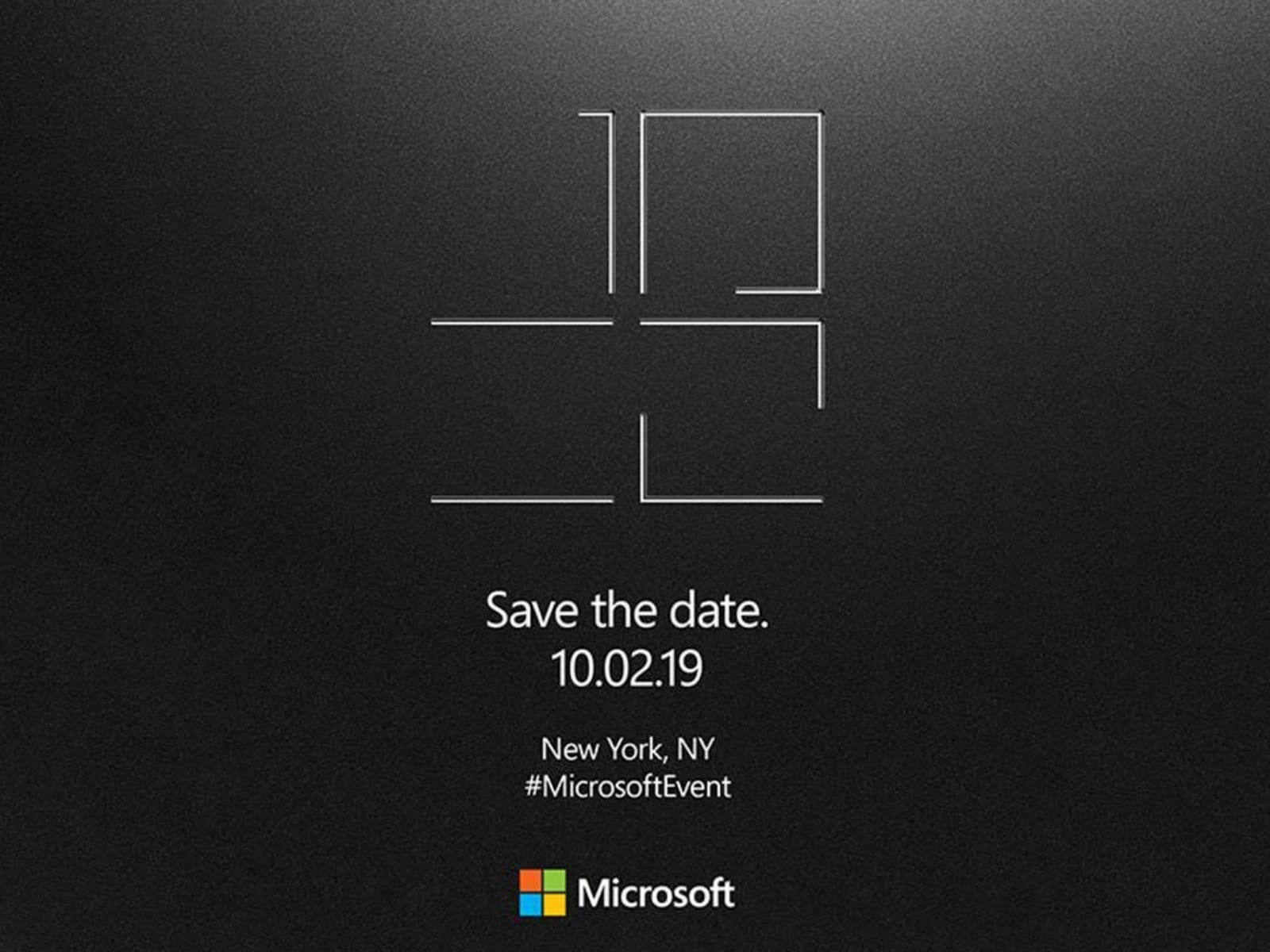 Surface 2019 invite
