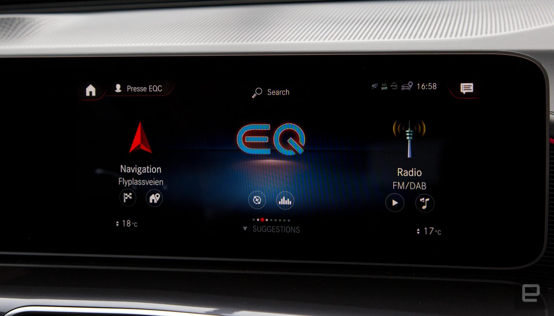 Mercedes-Benz ECQ 400 4MATIC first drive