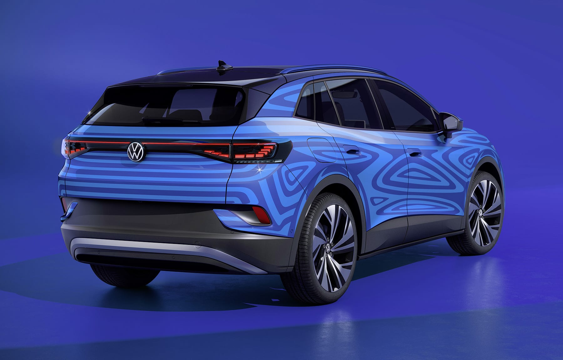 Volkswagen ID.4 crossover EV electric car