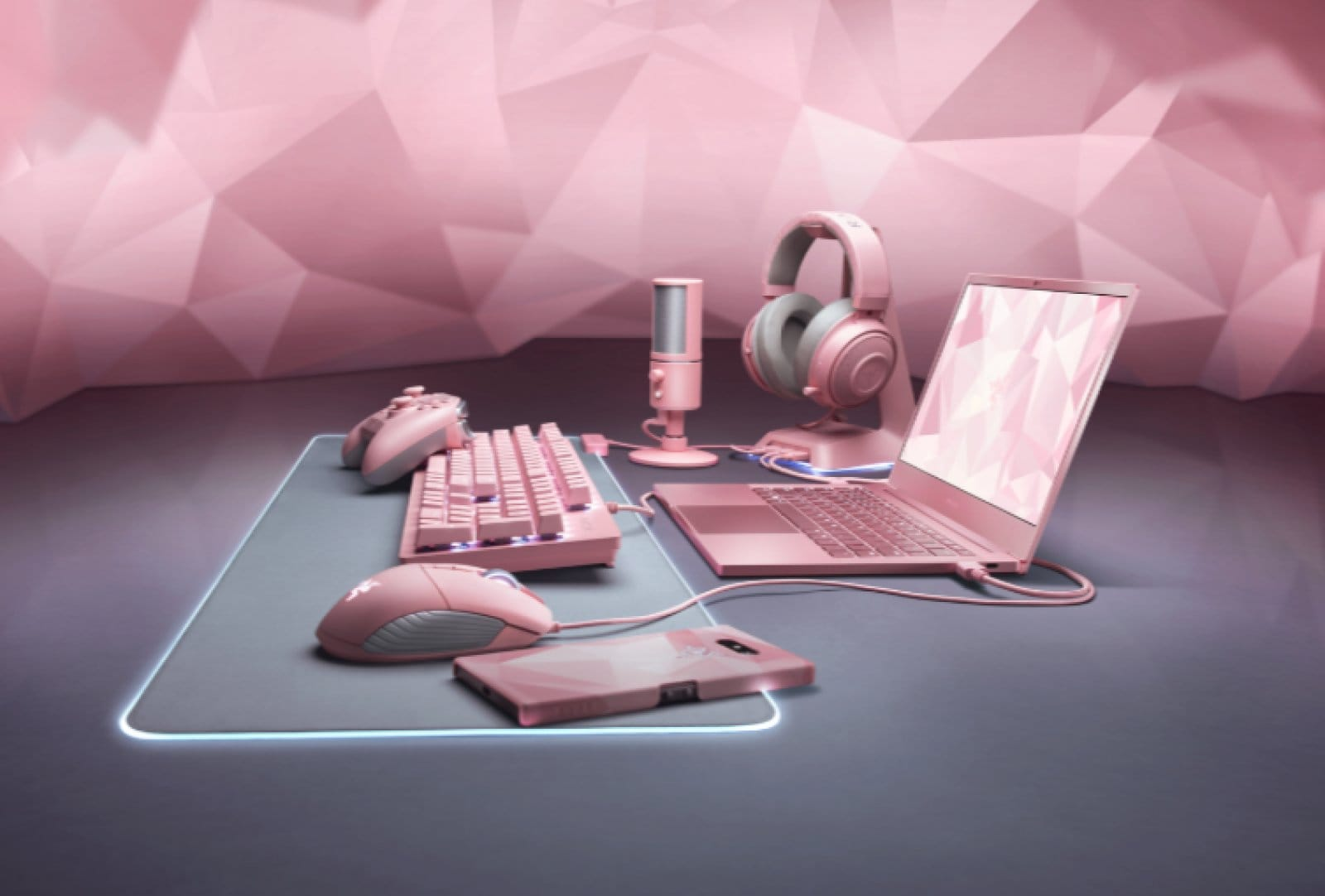 Razer Quartz Pink edition