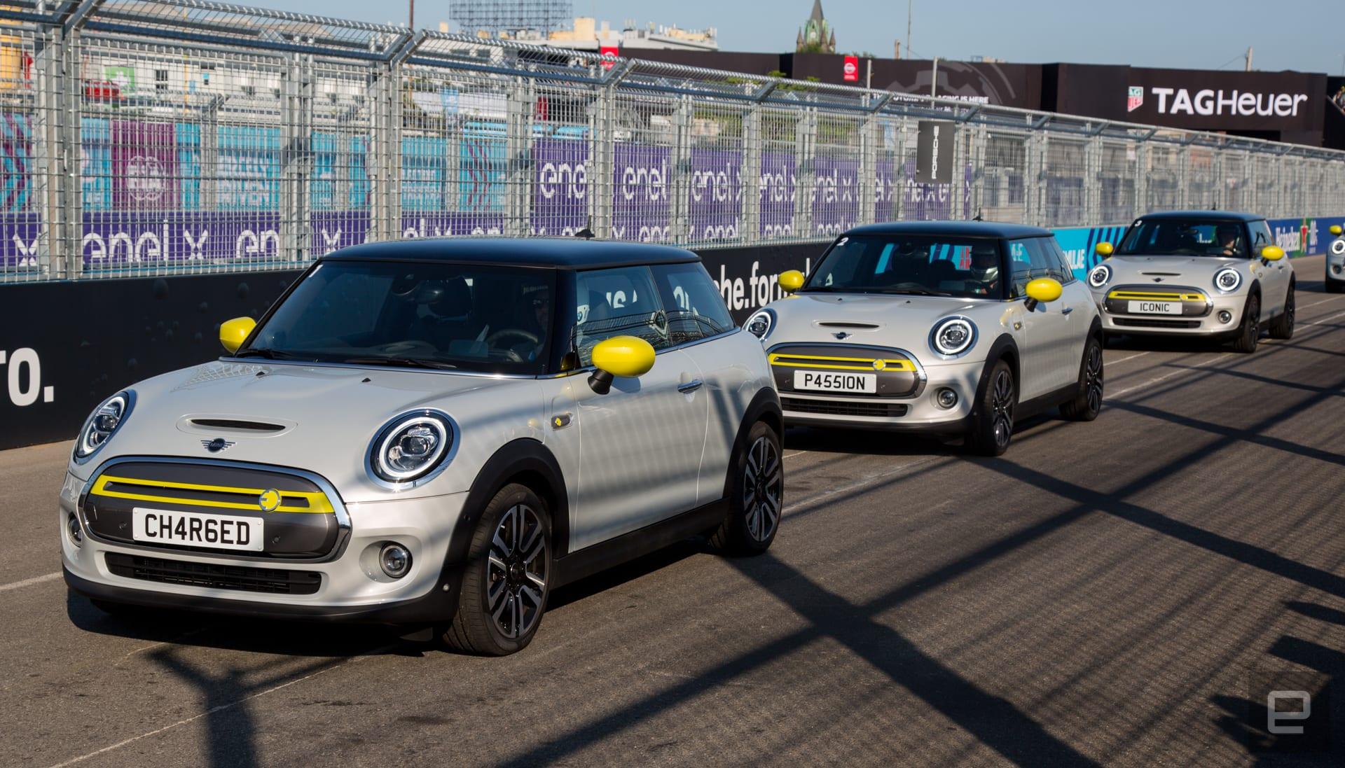 2020 Mini SE first drive