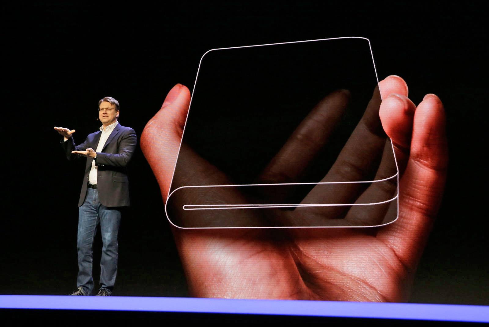 Smartphones Foldable Screens