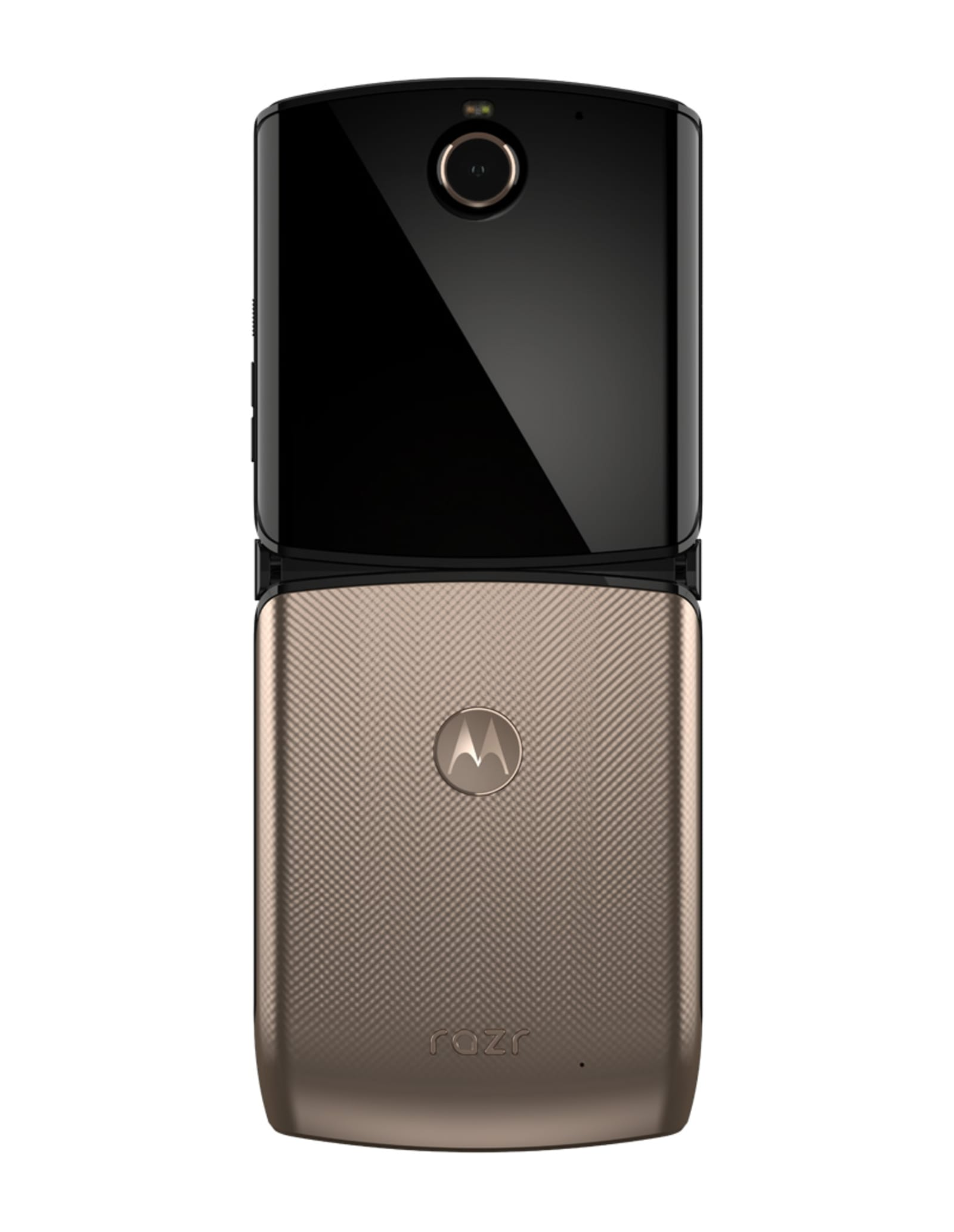 Motorola Razr (2020) in Blush Gold