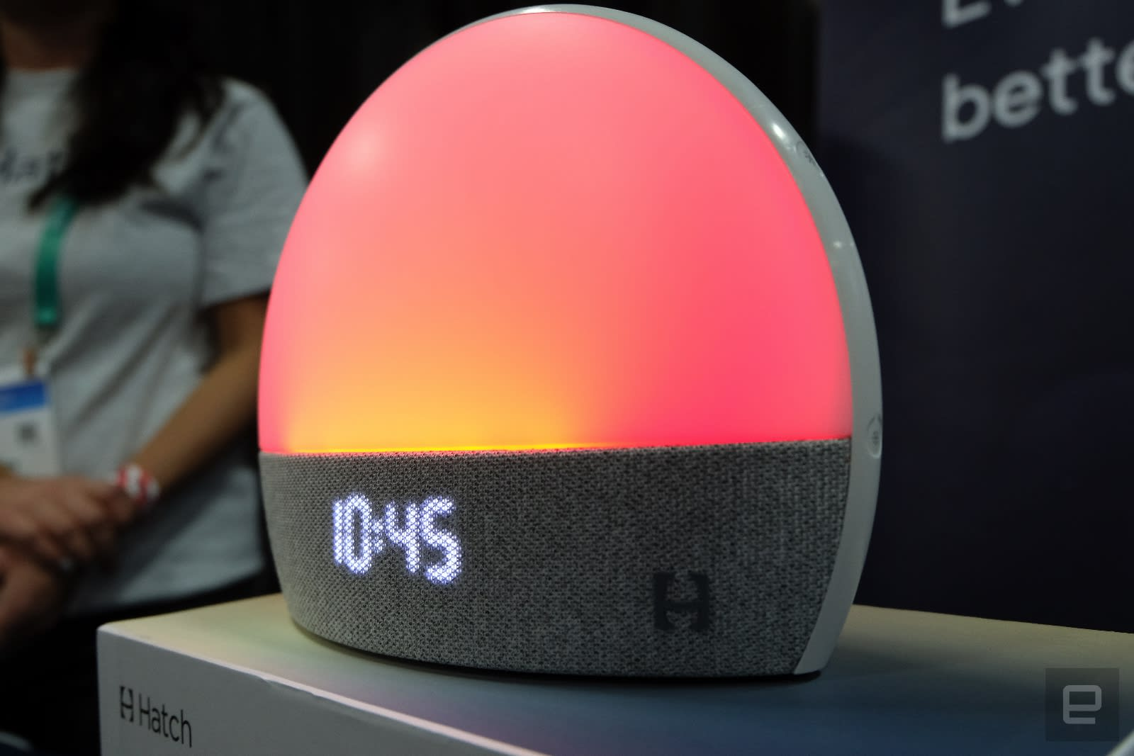 Hatch alarm clock