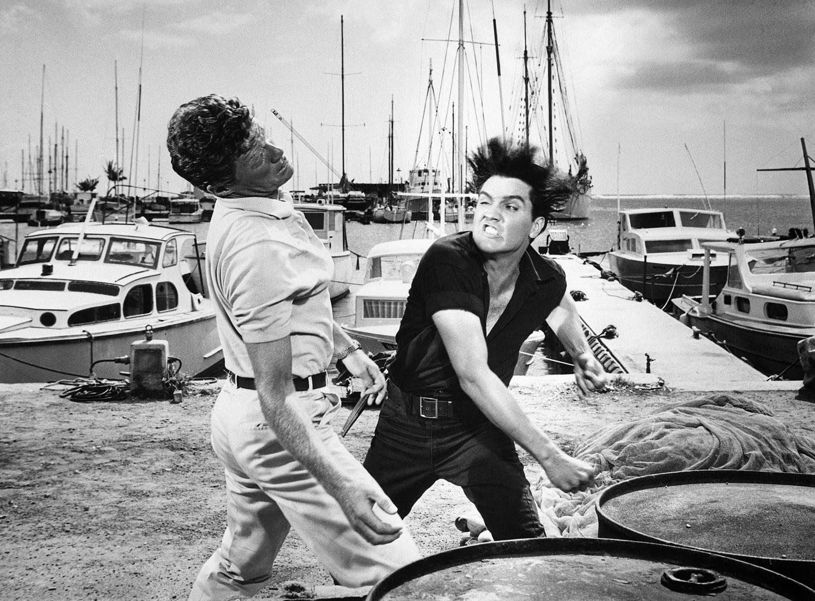 Elvis Punching Jeremy Slate