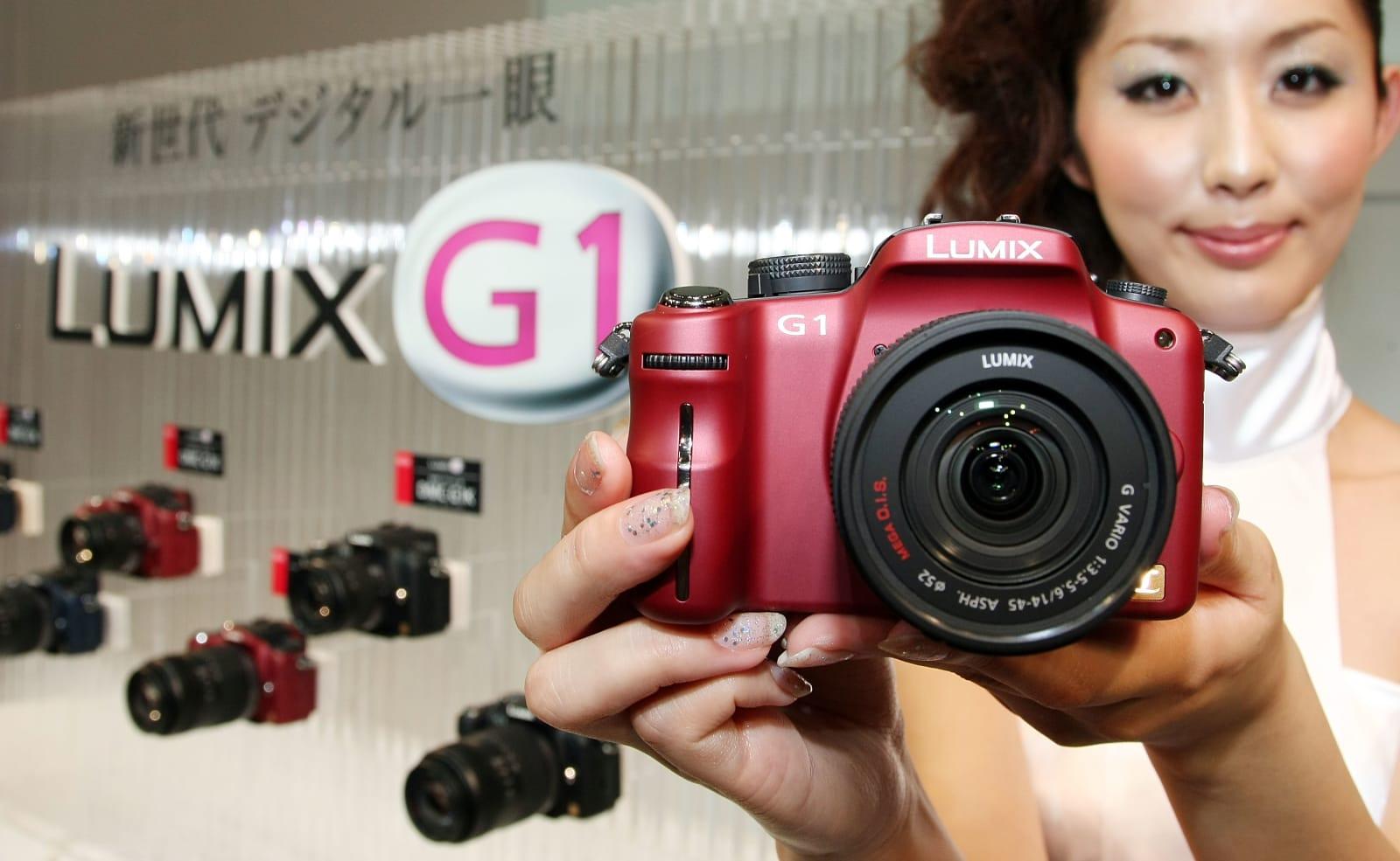Matsushita Launch World Smallest SLR Camera