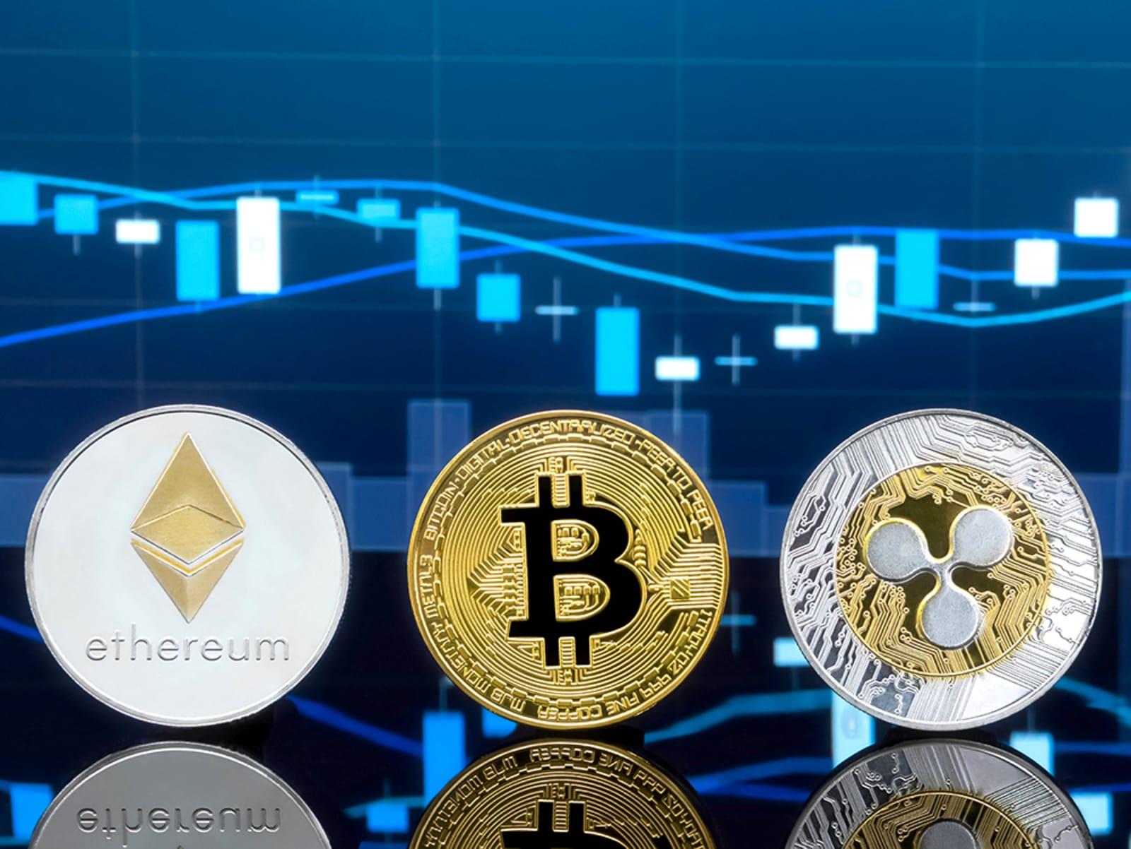 Bitcoin, Ethereum und Ripple - Kursanalyse KW10 - Die Unterstützungen halten