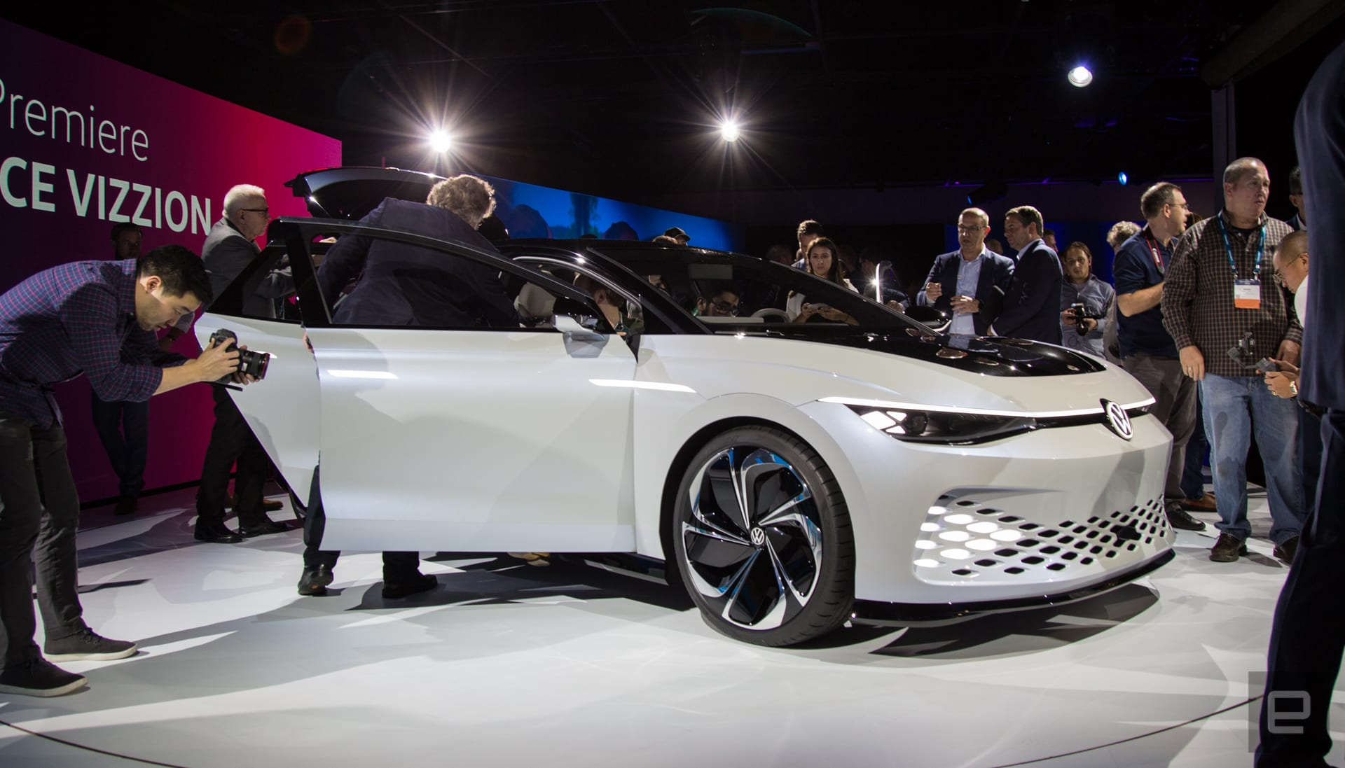 Volkswagen ID Space Vizzion concept unveil
