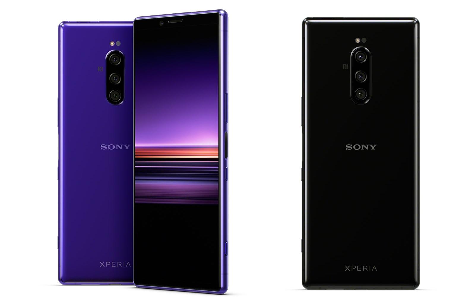 Sony Xperia 1 4K HDR cinematic screen OLED