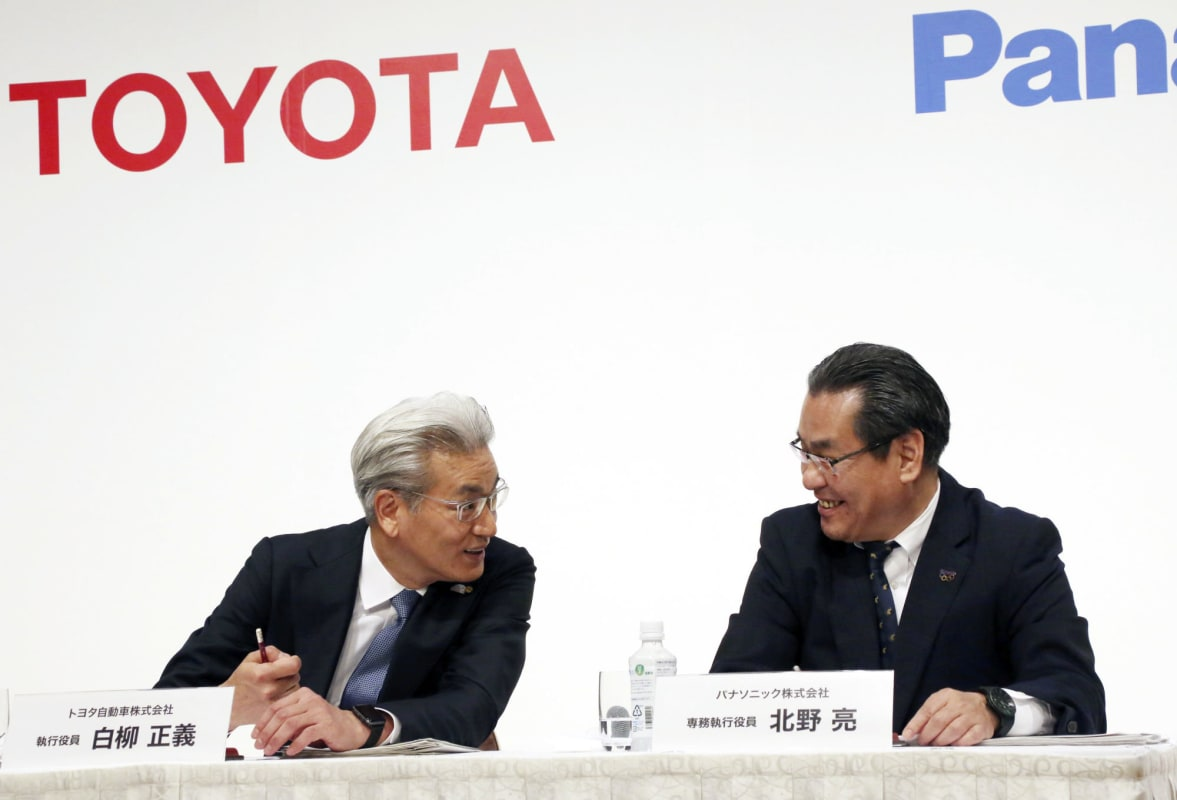 Japan Toyota Panasonic