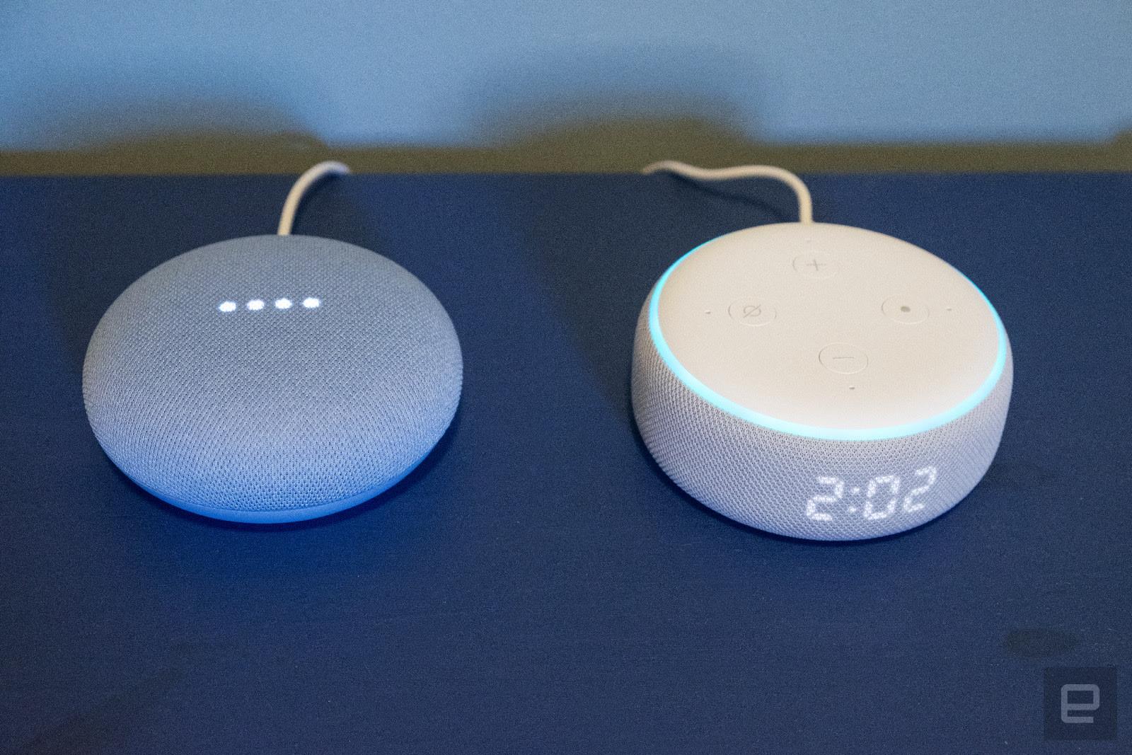 Nest Mini vs. Echo Dot