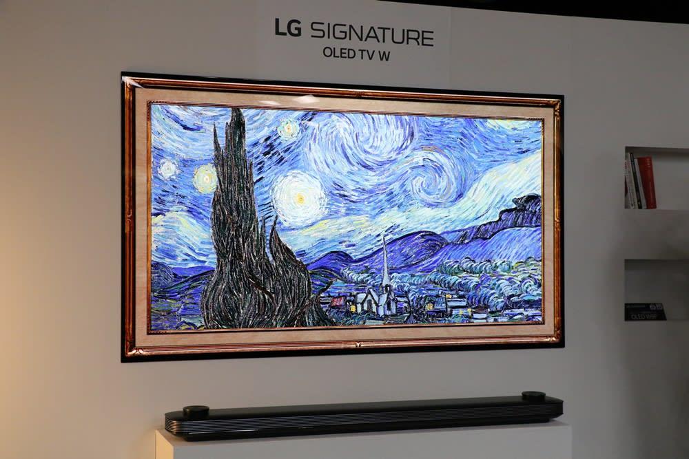 LG OLED 4K TV Japan 2019 Lineup