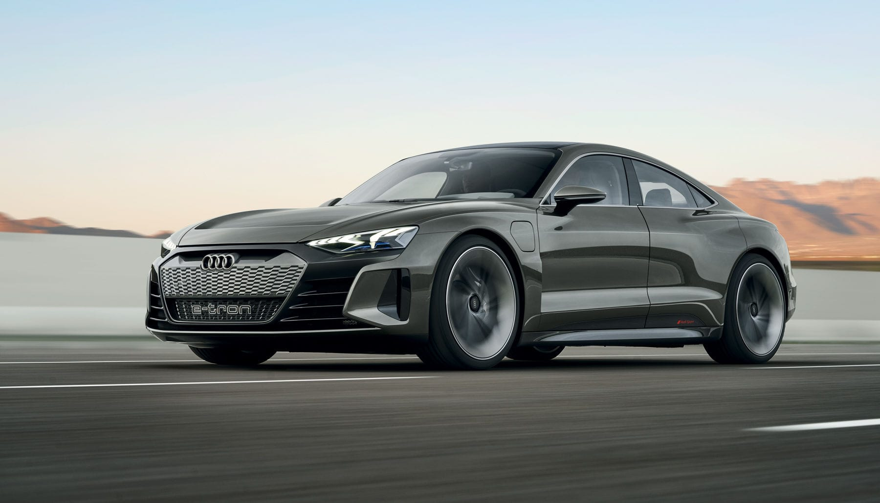 Audi's pure electric E-Tron GT is beautiful and fast