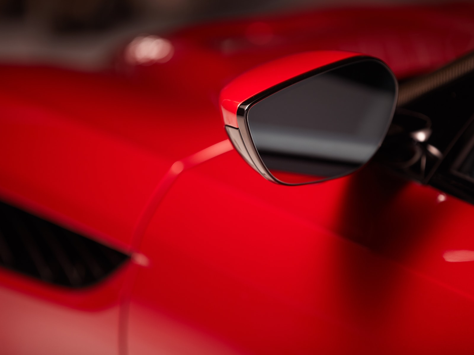 Aston Martin side mirror