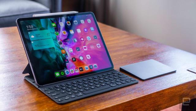 iPad Pro trackpad