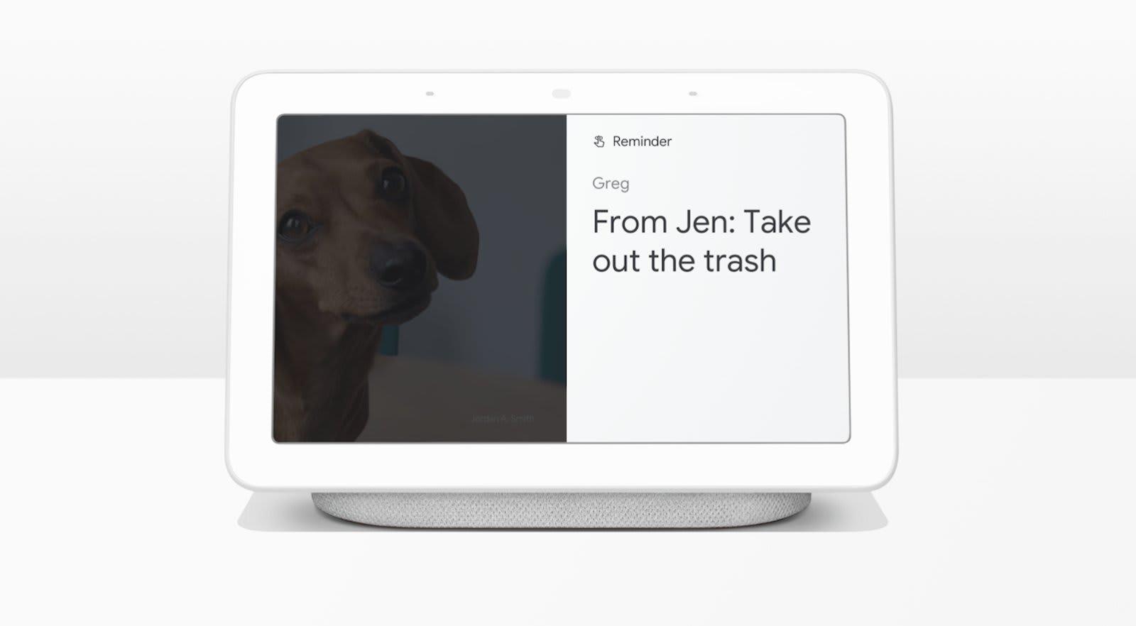 Google Assistant remainder