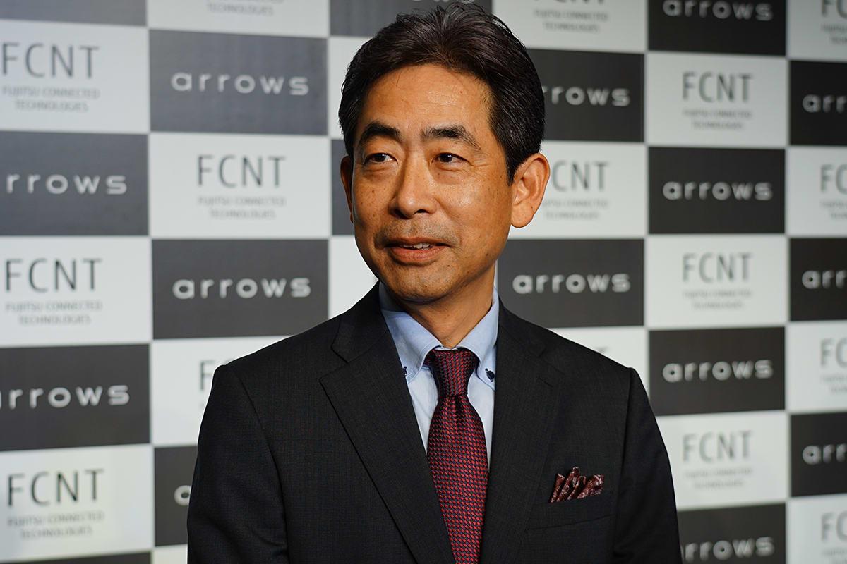 富士通コネクテッドテクノロジーズの高田克美社長