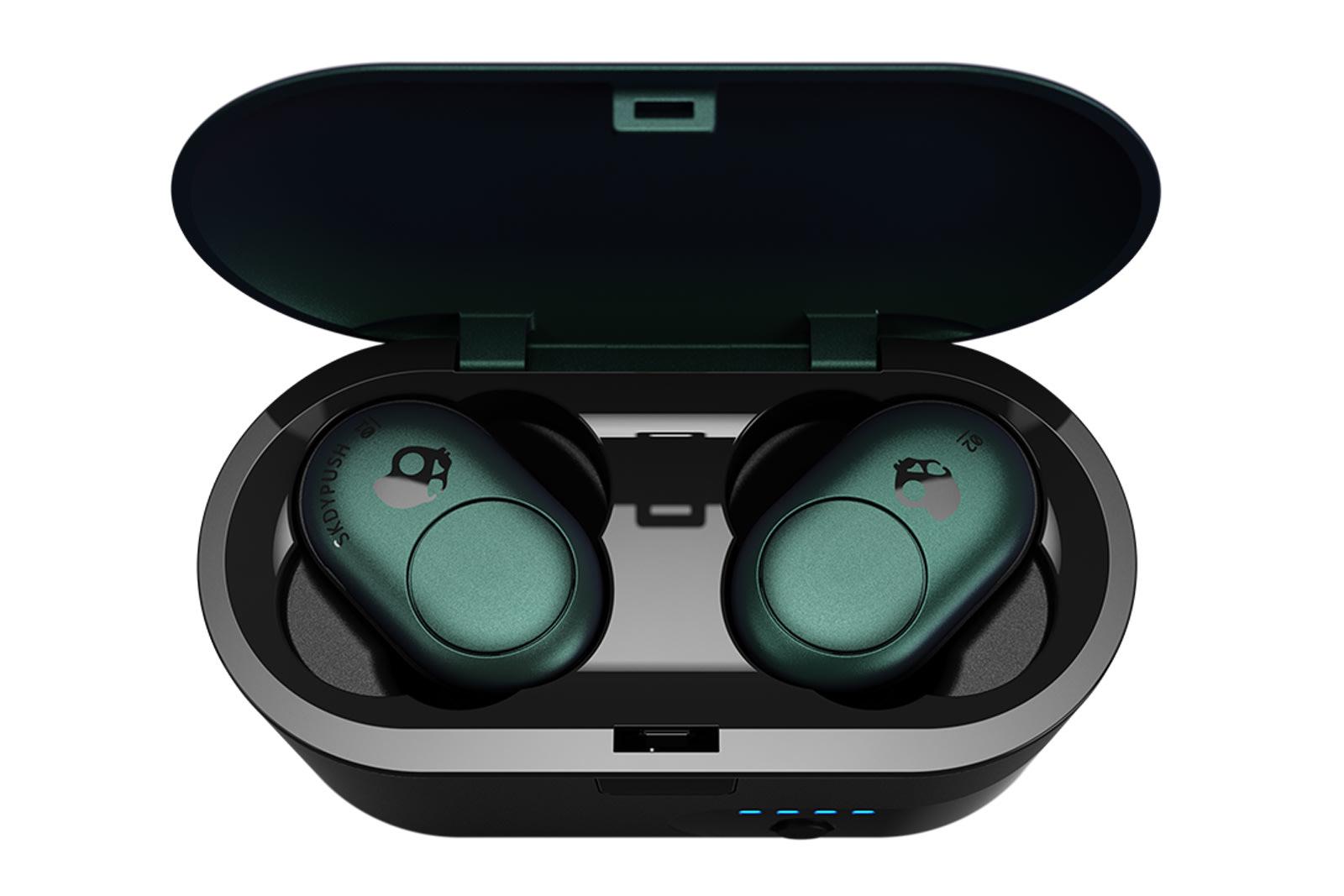 Skullcandy Push wireless earbuds in their case