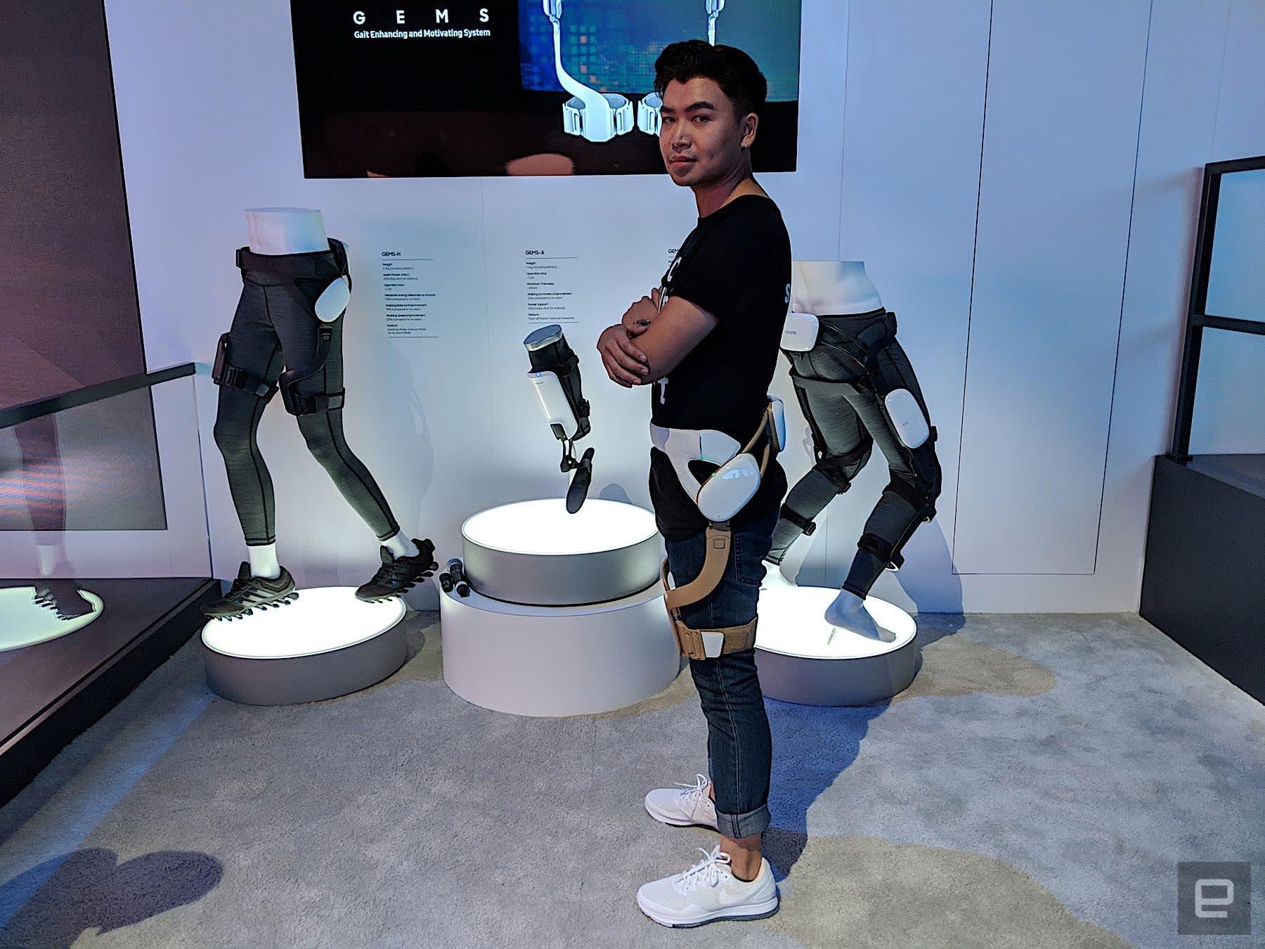 Samsung GEMS exoskeleton