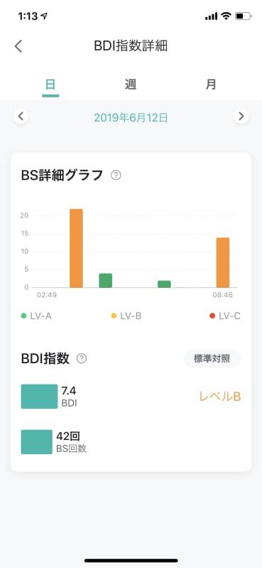 BS詳細グラフとBDI指数