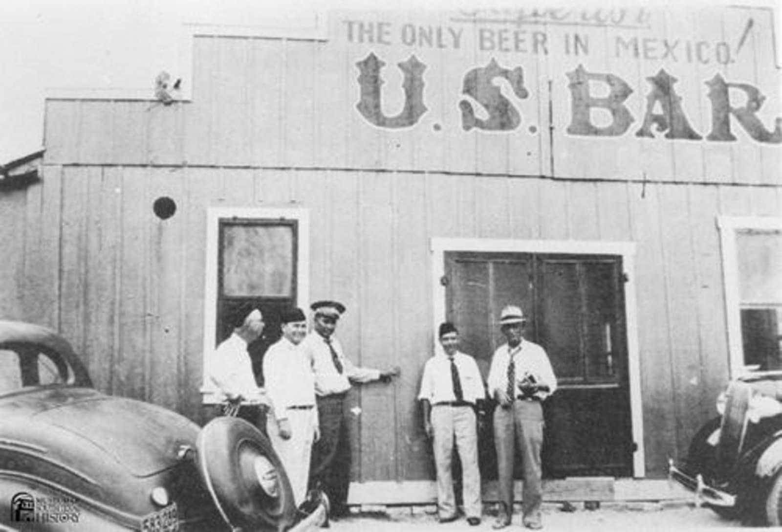 U.S. Bar in Reynosa, Mexico