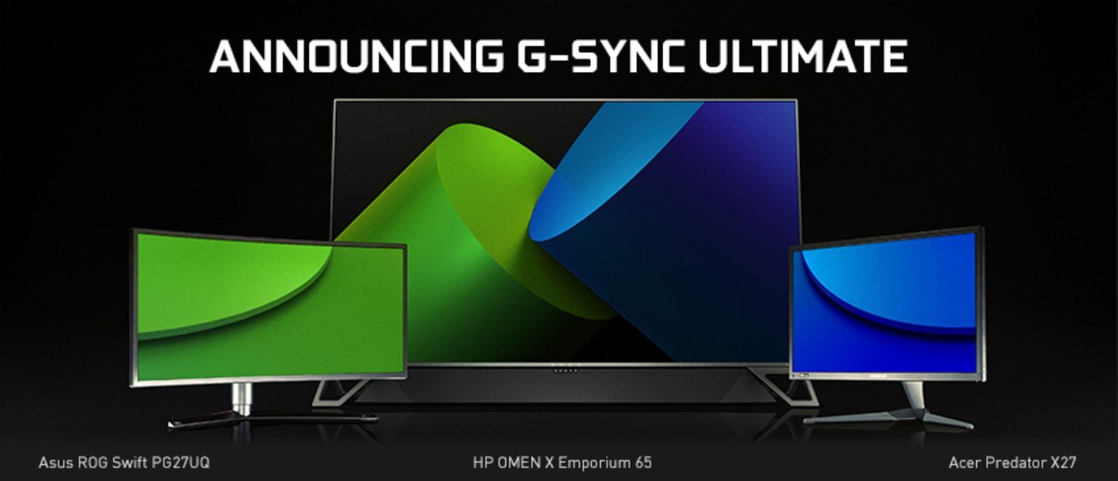 NVIDIA G-Sync Ultimate