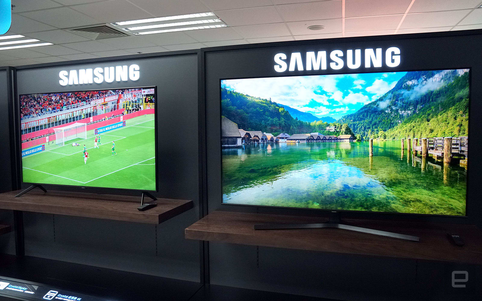 Samsung Crystal UHD LCD TV