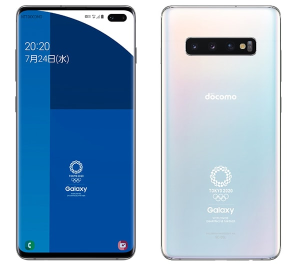 Galaxy S10+ Olympic Games Edition SC-05L