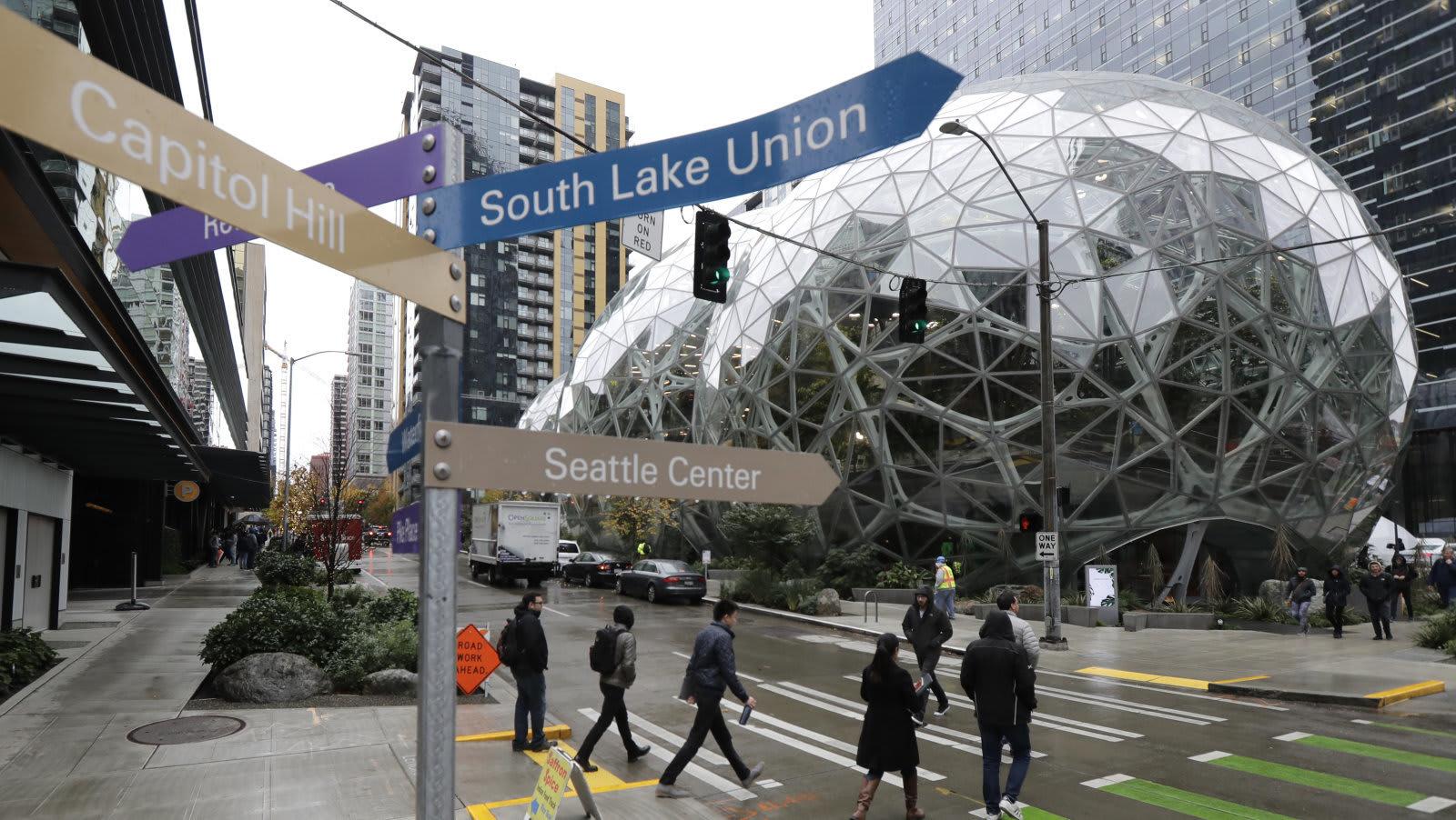 Amazon HQ Seattle Lessons