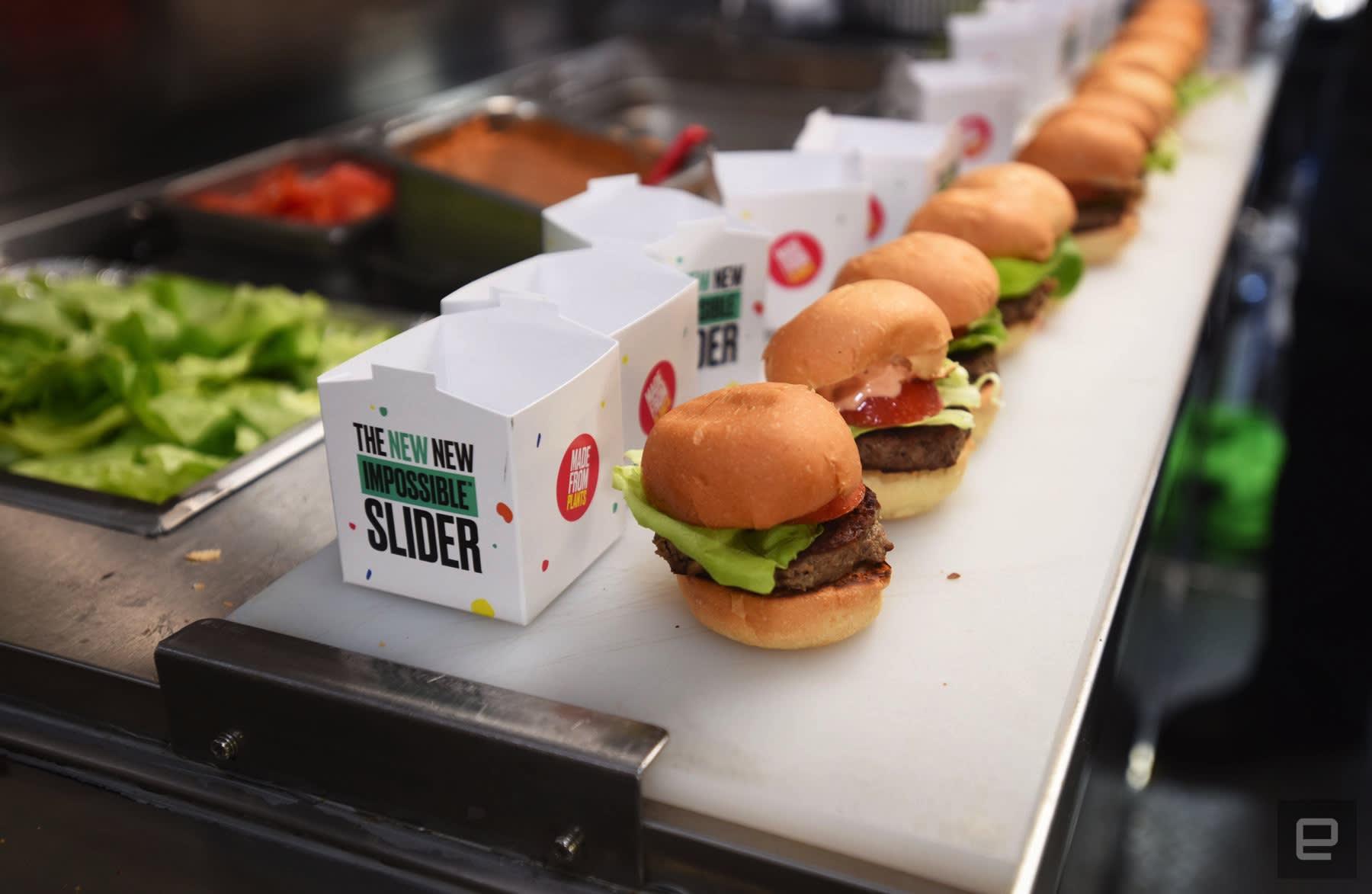 impossible burger ces