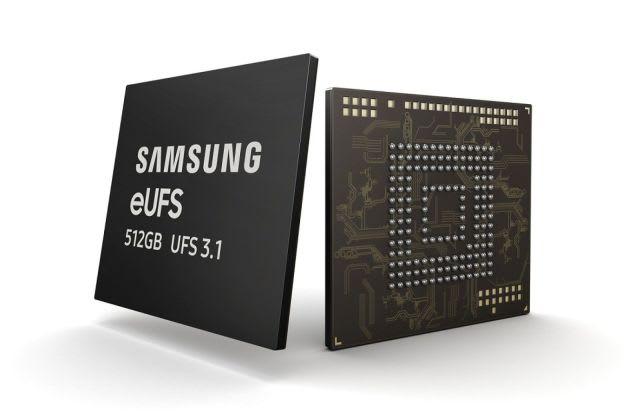 Samsung eUFS 3.1