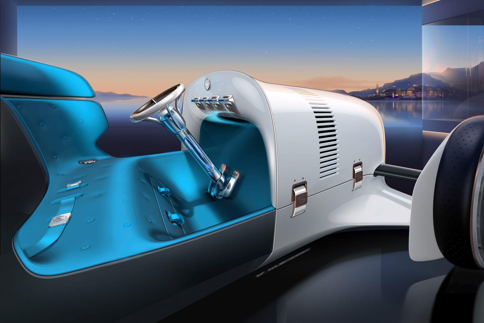 Vision Mercedes Simplex concept car interior