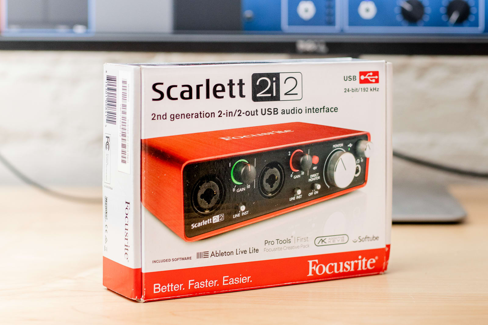 USB audio interface