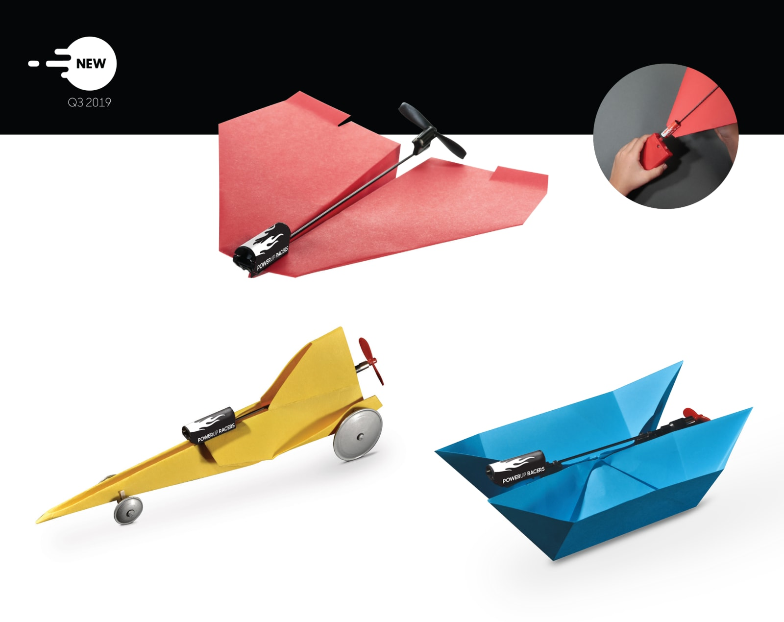 PowerUp Toys PowerUp Racers