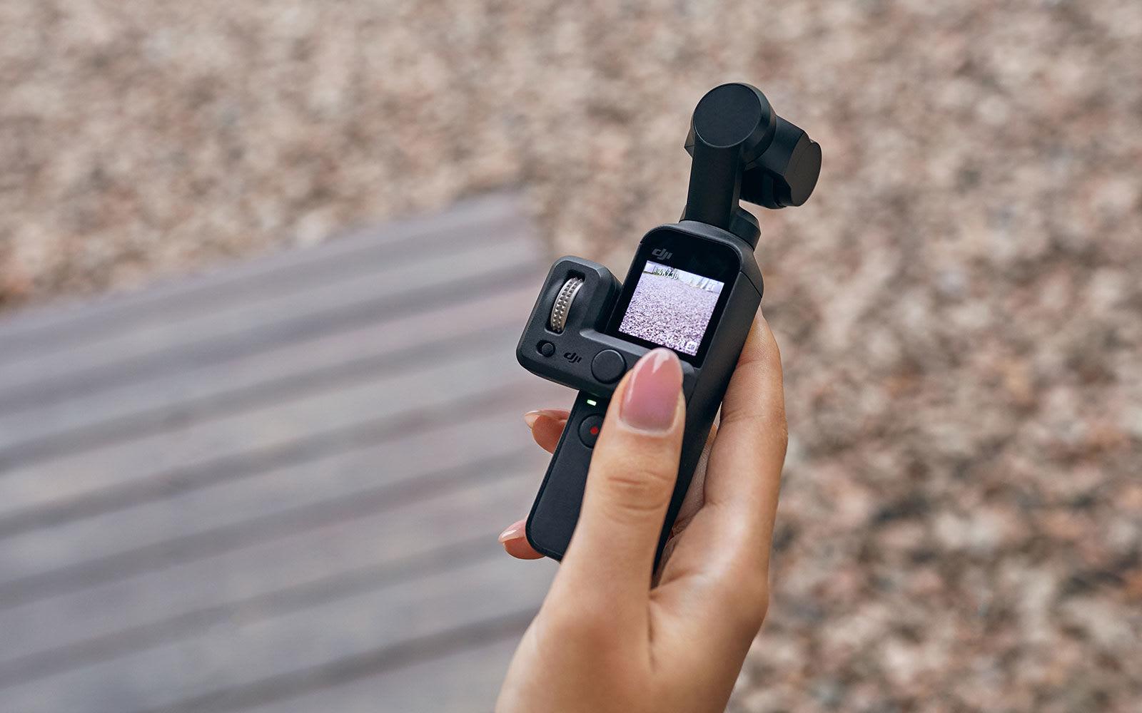 DJI 想靠 Osmo Pocket 進一步蠶食便攜雲台相機市場(更新:動手玩圖集)