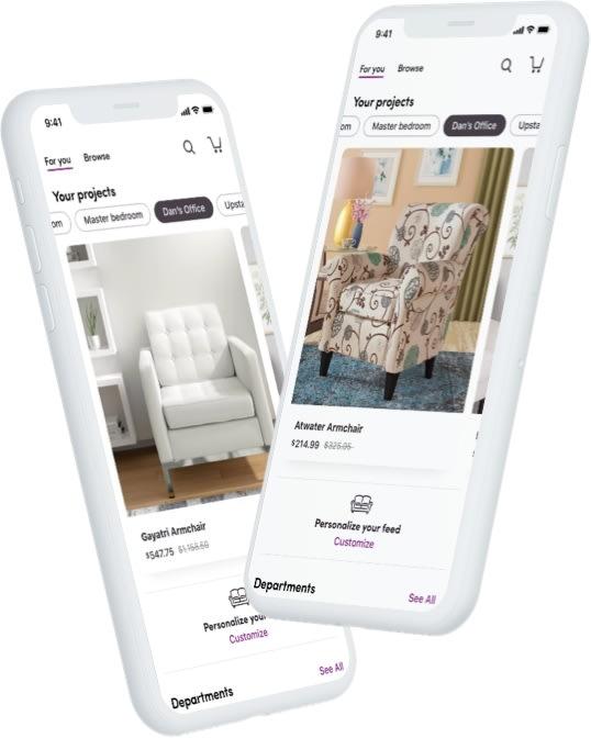 Wayfair Unveils New Mobile App