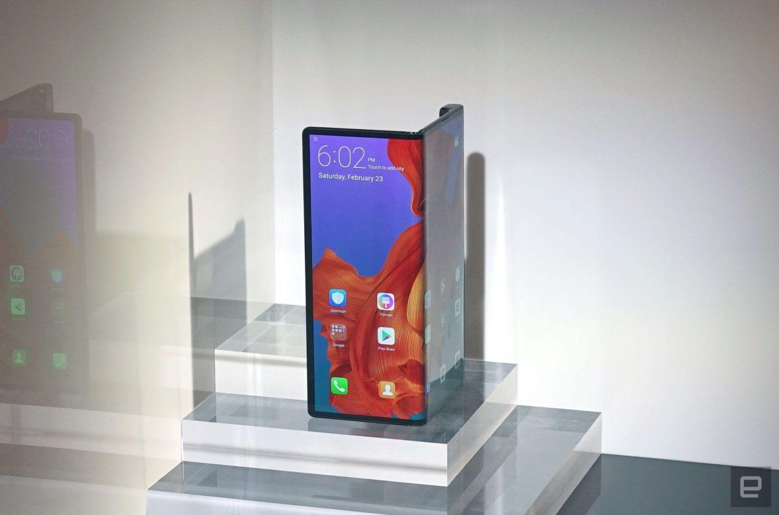 華為 Mate X 是 Samsung Galaxy Fold 的最直接競爭對手(更新:售價)