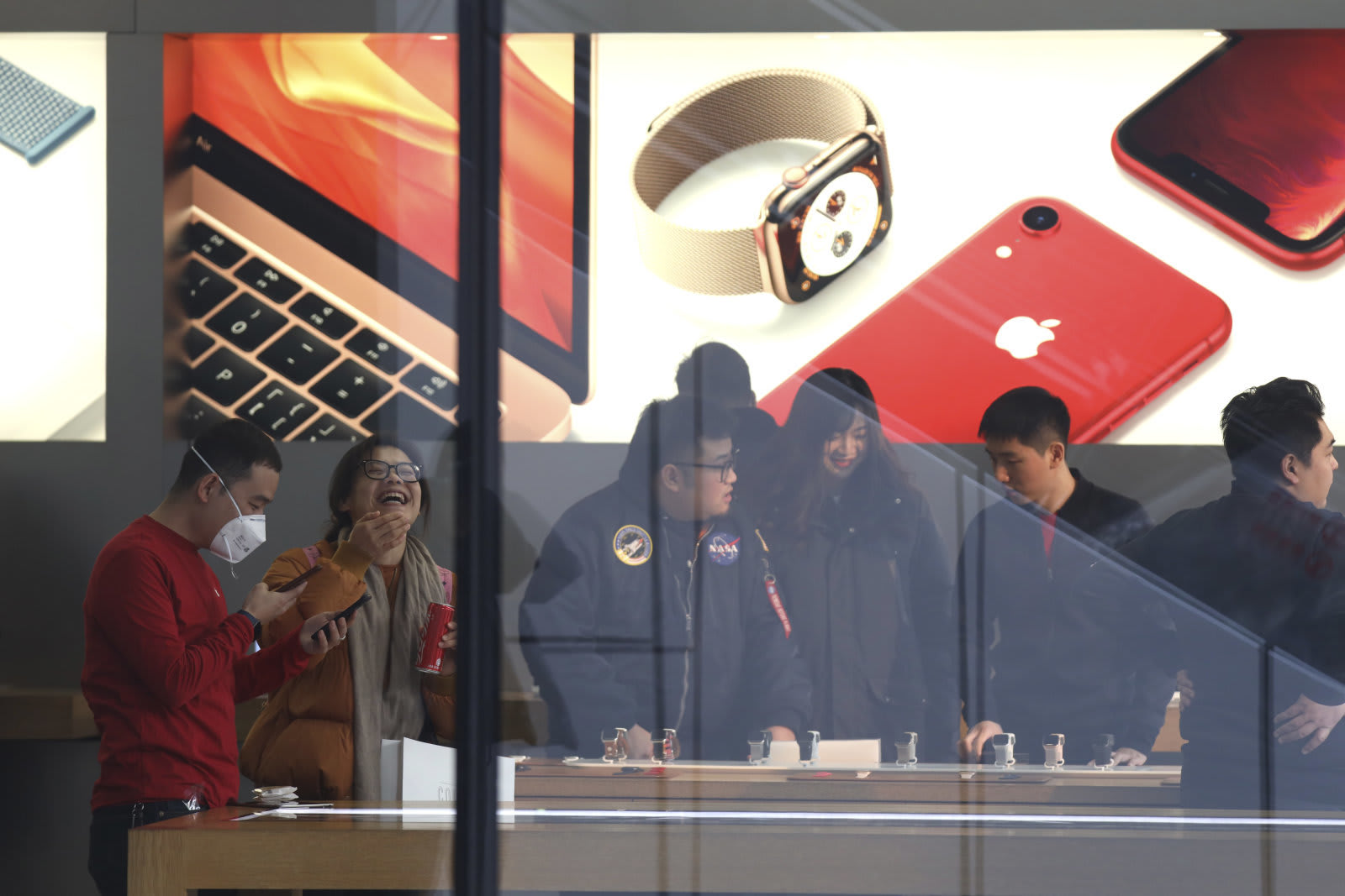 China Apple Consumer Slump
