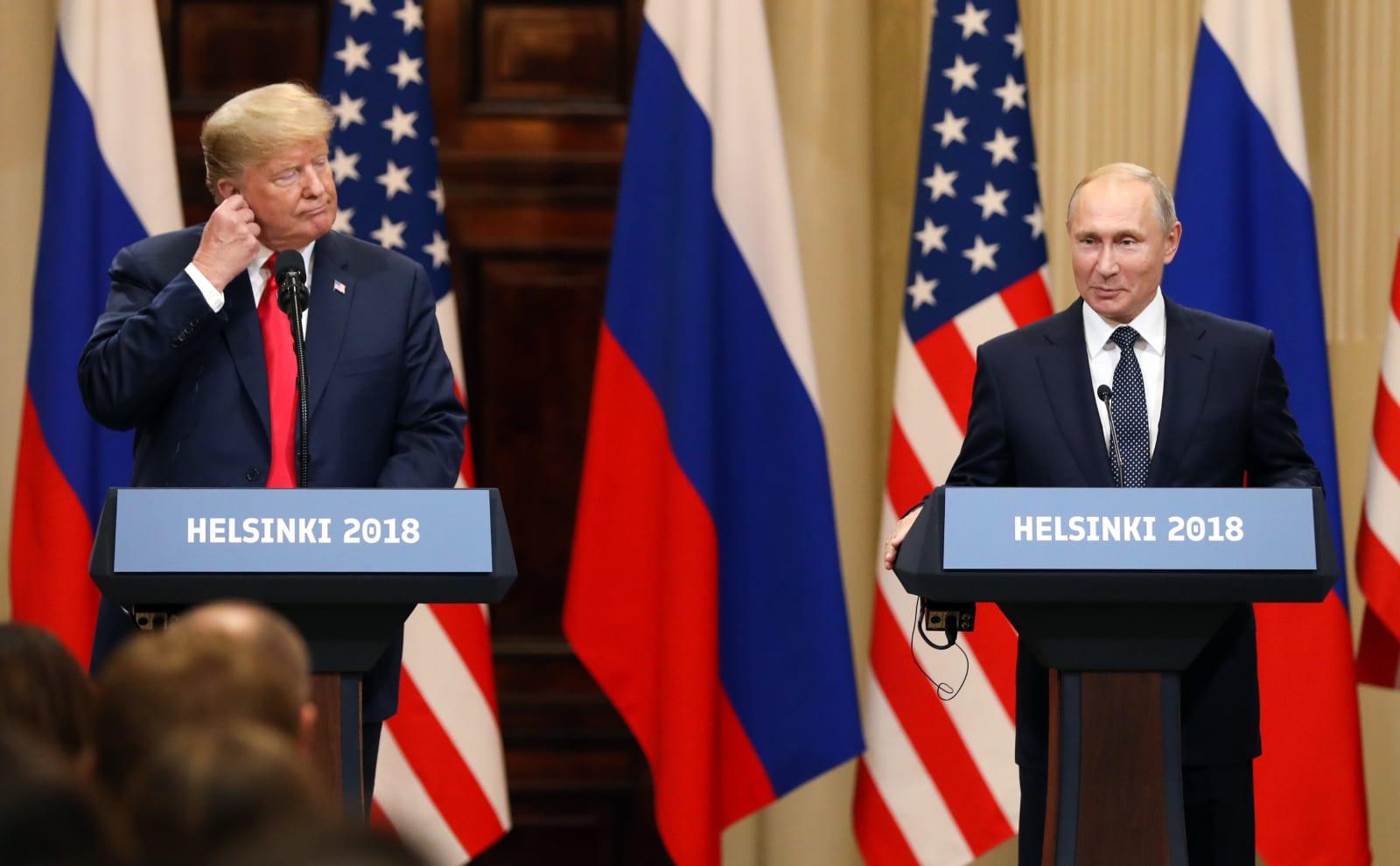 U.S. President Donald Trump And Russian President Vladimir Putin's Helsinki Summit