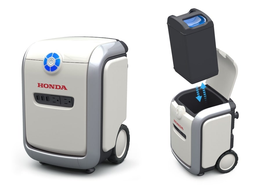 Honda Mobile Power Pack Charge & Supply - Portable Concept