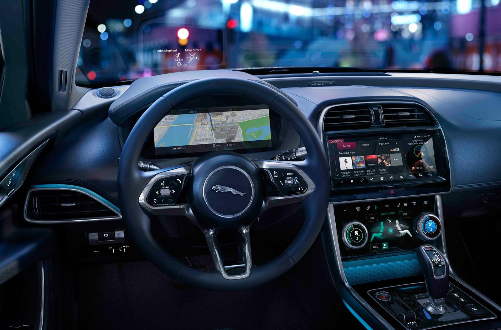 Jaguar 2020 XE interior