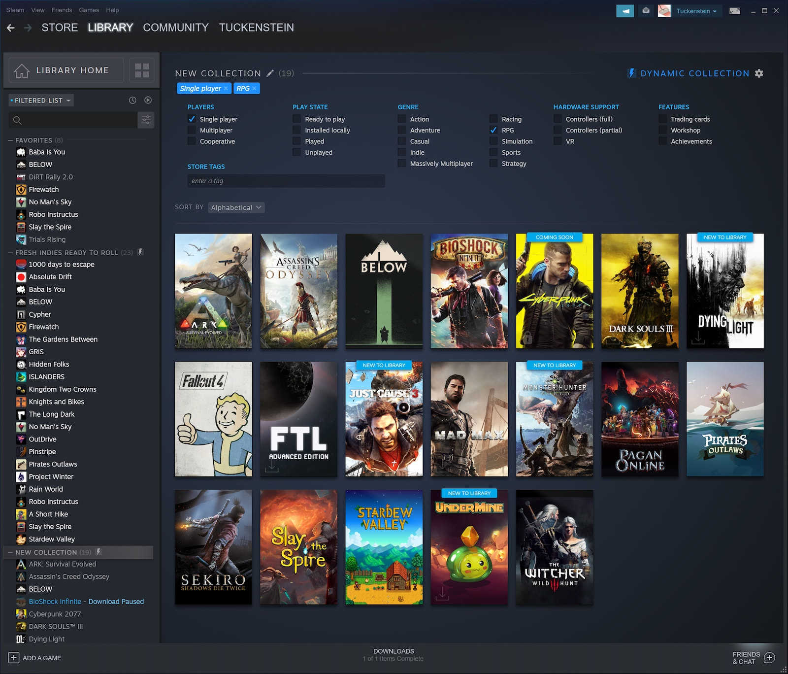 This is the new Steam Library | Engadget